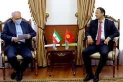 Zarif Bişkek'te Kırgız mevkidaşı ile görüştü