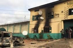 بیش از ۱۸۰۰ زندانی از ندامتگاهی در نیجریه گریختند