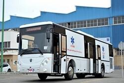 """شركة """"ايران خودرو ديزل"""" تبدأ مرحلة الانتاج المكثف لحافلات الاسعاف"""