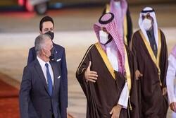 Saudi delegation visits Jordan amid coup