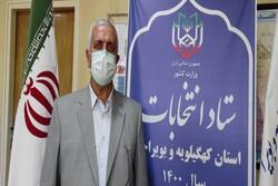 ثبت نام ۵۴۵ داوطلب شورای روستا در کهگیلویه و بویراحمد انجام شد