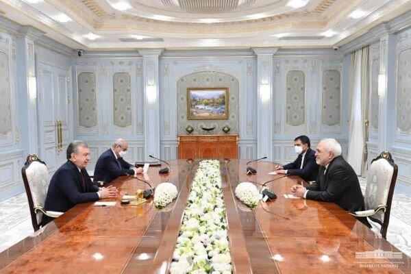 Zarif terms meeting with Uzbek officials 'fruitful'