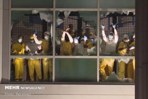 شورش در زندان سنت لوئیس آمریکا