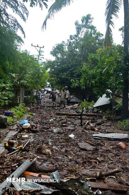 سیل مرگبار در اندونزی