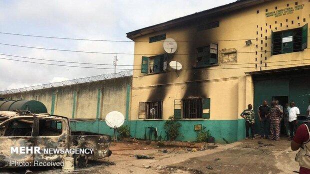 نائیجیریا میں مسلح افراد کے حملے میں 1800 قیدی جیل سے فرار ہوگئے