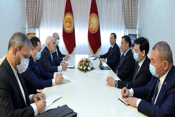 Zarif expresses content about his trip to Kyrgyzstan