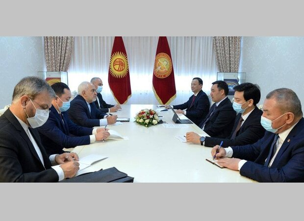 Iran attaches great importance to ties with Kyrgyzstan: Zarif