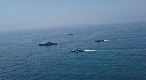 انتهاء التدريبات المشتركة للبحرية الإيرانية والباكستانية