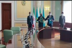ايران وكازاخستان يبحثان تعزيز العلاقات وفرص التعاون الثنائي
