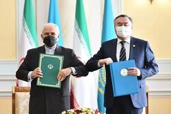 ایران اور قزاقستان خطے میں امن و ثبات کے سلسلے میں مشترکہ اہداف پرگامزن