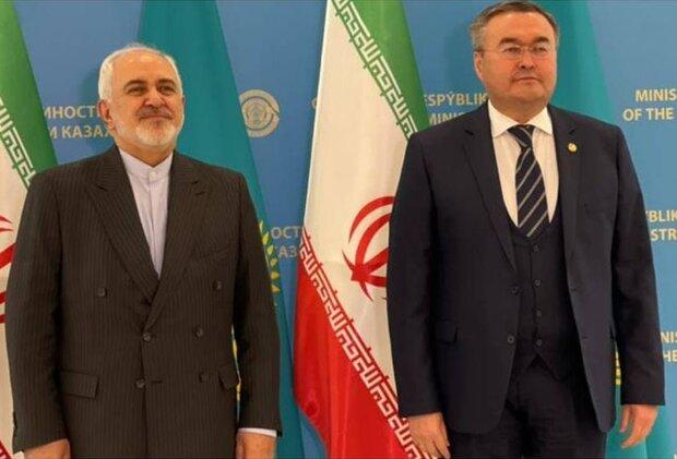 Iran, Kazakhstan discuss bilateral ties