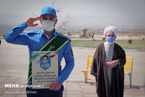 تشییع و تدفین دو محیط بان زنجانی