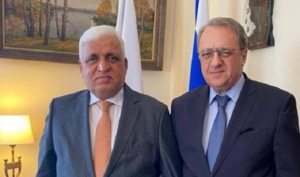 الفياض يبحث مع باتروشيف قضايا الأمن الإقليمي والتعاون بين البلدين