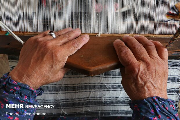 صنایع دستی در حال فراموشی بندپی شرقی