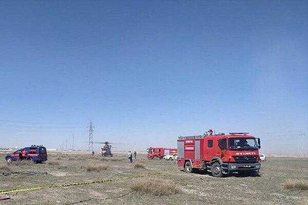 ترکی میں فوجی طیارہ گر کر تباہ/ پائلٹ ہلاک