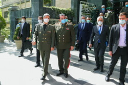 Iranian, Tajik defense ministers meeting