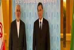 Zarif, Türkmen mevkidaşı ile görüştü