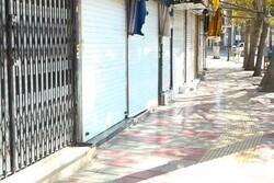 محدودیت های کرونایی در بازار دهلران