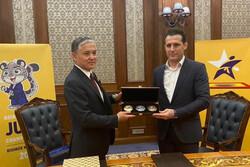امضا تفاهم نامه فدراسیون جودو با قرقیزستان و ترکمنستان