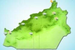 رگبار پراکنده و بارشها به استان سمنان میرسد