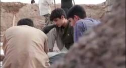 اردوی جهادی در قرارگاه منطقهای تایباد برگزار شد
