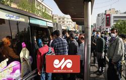 وضعیت عجیب مترو و اتوبوس در اولین روز تعطیلی های سراسری