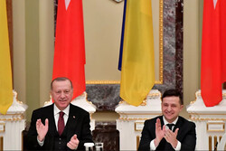 اردوغان و زلنسکی بر «مشارکت راهبردی» ترکیه و اوکراین تأکید کردند