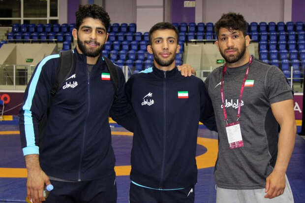 Iran wrestlers take two gold medals, Olympics berths