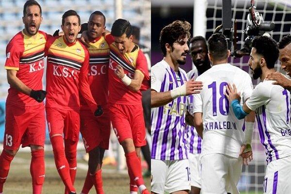 فريق فولاد الايراني يواجه فريق العين الاماراتي في الرياض