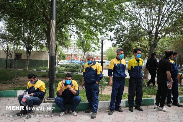 لزوم ارائه گزارش سوءاستفاده از واکسن کرونای پاکبانان در تهران