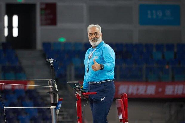 داور بین المللی والیبال ایران بازنشسته شد
