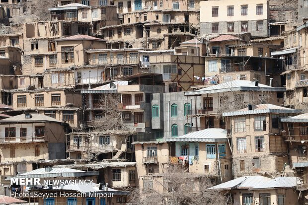 Stair-stepped village of 'Kang'