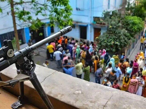 بھارتی ریاست مغربی بنگال میں فائرنگ سے 5 افراد ہلاک اور متعدد زخمی