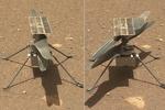 صدای پرواز هلی کوپتر مریخی ثبت شد