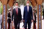 Iranian 1st VP receives South Korean PM