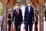 جنوبی کوریا کے وزیر اعظم تہران پہنچ گئے/ سعد آباد محل میں استقبال