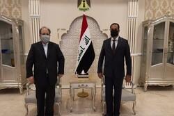 وزير التعاون الايراني يلتقي بنظيره العراقي في بغداد