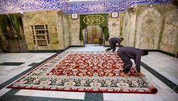 فرش هایی  که زینت بخش حرم حضرت عباس(ع) هستند
