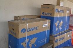 کشف ۳۰ دستگاه کولر گازی قاچاق در پاوه