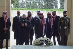 اولین حضور عبدالله دوم و ولیعهد سابق پس از تحولات اخیر اردن
