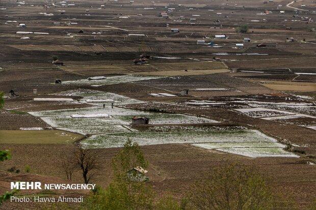 دورنمای از روستاهای دودانگه ساری