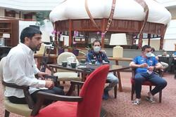 جلسه علیرضا دبیر و شاگردان محمد بنا در قزاقستان