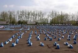 توزیع ۴۴ هزار بسته معیشتی تا پایان ماه مبارک رمضان در گیلان