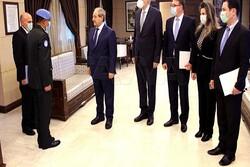 رایزنی وزیر خارجه سوریه با فرمانده نیروهای حافظ صلح در جولان