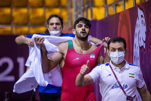 Iran freestylers win two gold, one silver