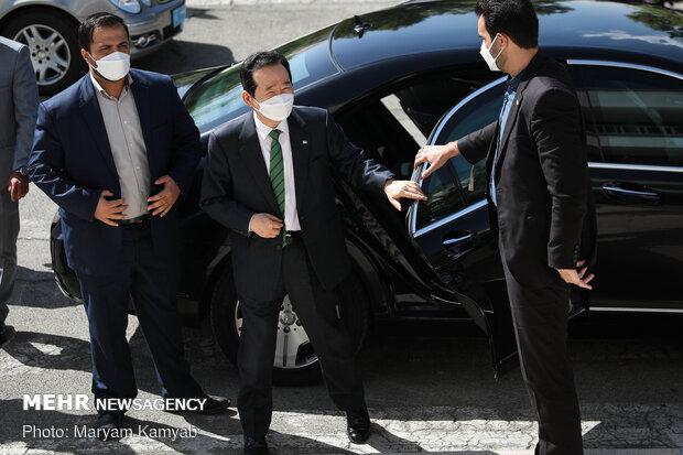 Ayetullah Hamanei'nin Başdanışmanı, Güney Kore Başbakanı ile görüştü