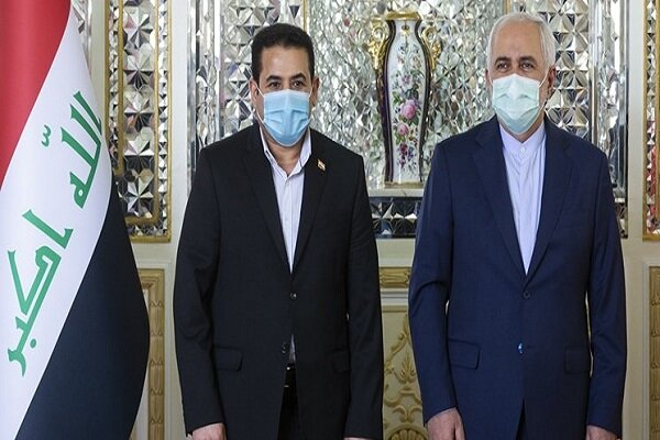 Iraq's National Security Advisor meets Zarif