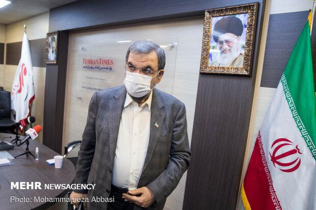 بازدید محسن رضایی از خبرگزاری مهر
