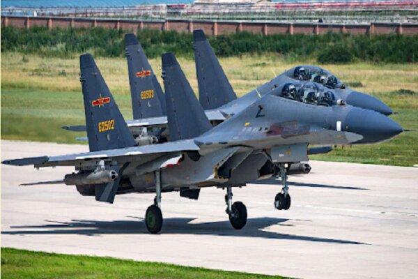 ورود ۲۵ جنگنده چینی به خاک تایوان / احتمال افزایش تنشها