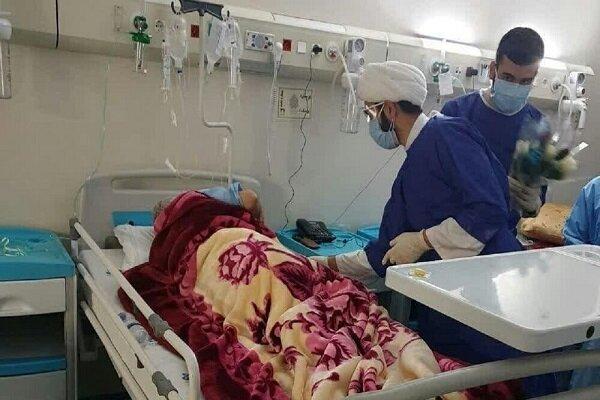 کمک به کادر درمان توسط ۲۰ روحانی و داوطلب کرمانشاهی در پیک چهارم